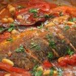 דג מוסר ברוטב עגבניות חריף