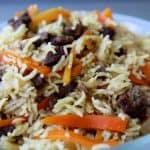 פלוב – אורז  עם בשר בסיגנון בוכרי