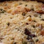 עוף עם אורז בתנור