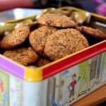 עוגיות  בריאות קוואקר/טחינה