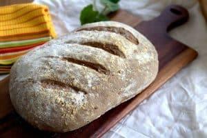 לחם שיפון כפרי