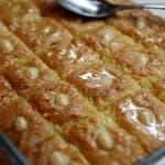 ספרה טריפוליטאית -עוגת סולת ושקדים