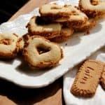 עוגיות לב  במילוי לוטוס