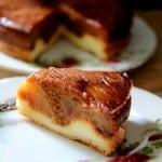 עוגת שכבות תפוחים-דבש-גבינה