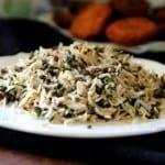 אורז בשילוב תרד ועדשים