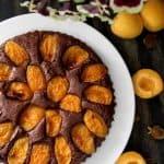 עוגת שוקולד משמש