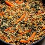 גריסים קינואה ובורגול בשילוב ירקות