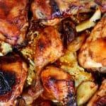 עוף צלוי בתנור בטעם ברביקיו