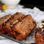 עוגת אגוזים קוקוס ושוקולד נוסטלגית