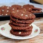 עוגיות שוקולד קוואקר ואגוזים